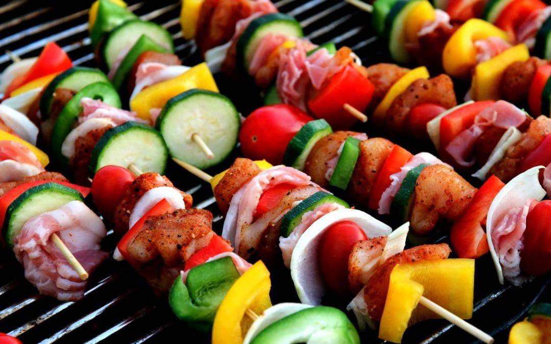 Tag din madlavning med udenfor