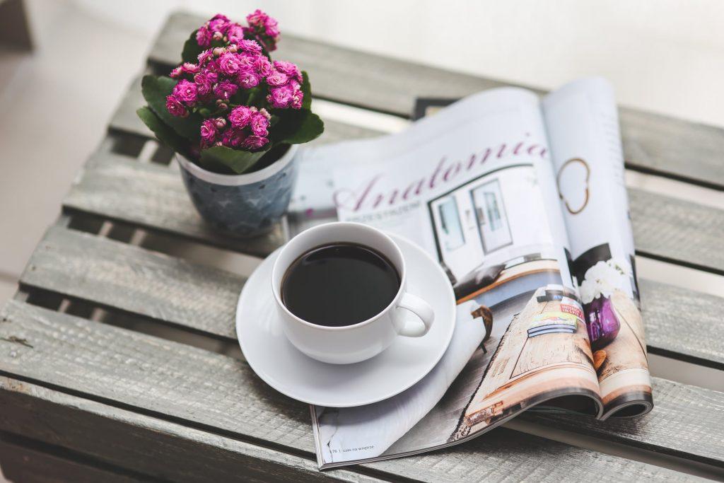 Magasin og kaffe